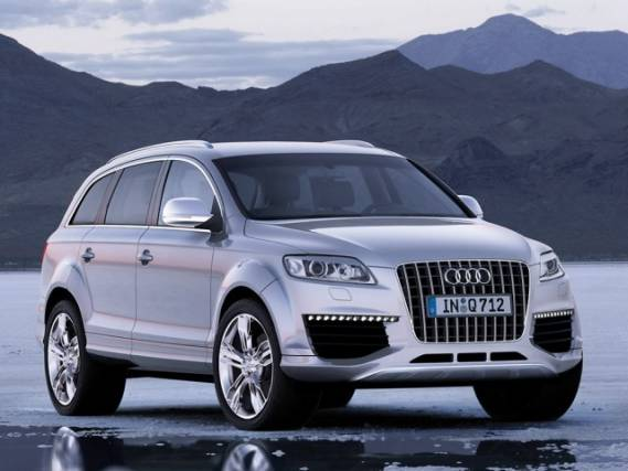 Justin also owns the luxurious Audi Q7