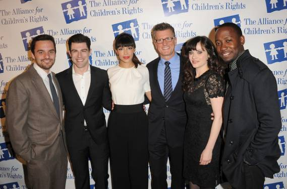 Zooey Deschanel and many of Hollywood cinema stars attend the Alliance For Children's Rights Annual Dinner in Beverly Hills