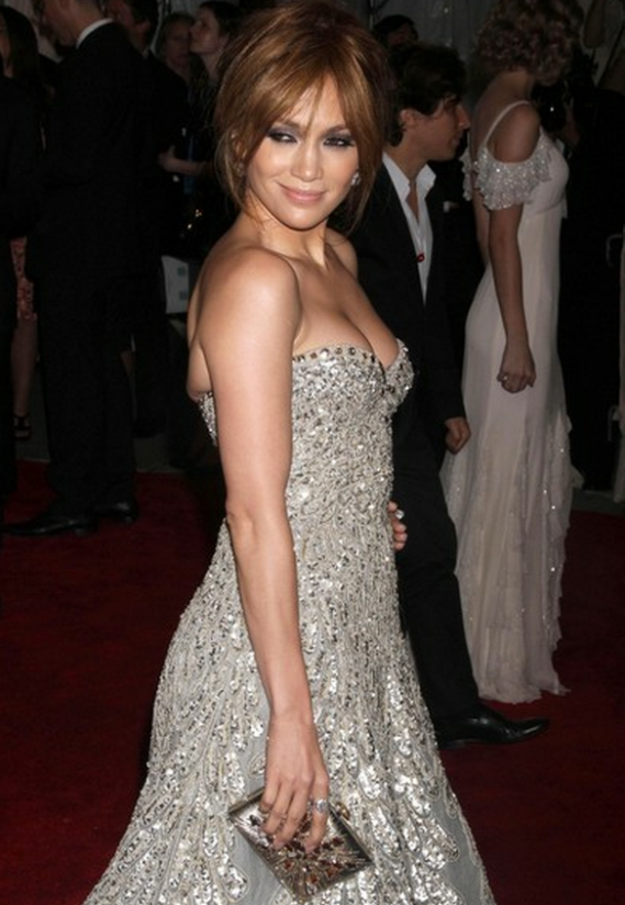 Judith Leiber Starbust Clutch is one of Jennifer Lopez's favorite accessories as she was spotted carrying it to an award show