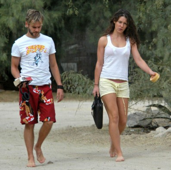 Evangeline Lilly had taken an elaborate and extensive vacation to Spain with her then heart-throb, Charlie (Dominic Monaghan).
