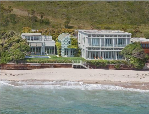 Oracle CEO Larry Ellison's new dig in Malibu