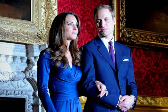 Kate Middleton wore the blue jersey dress by Issa London while announcing for her engagement with prince William.