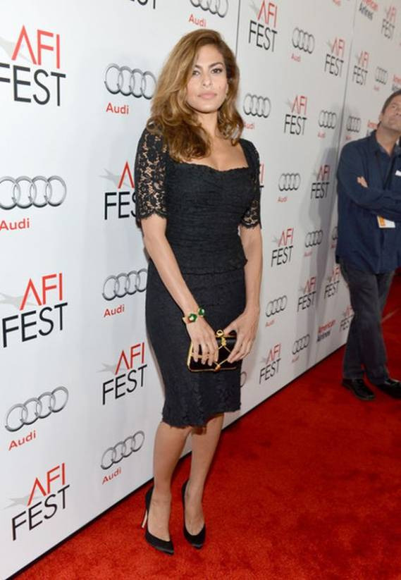"The actor attended the ""Holy Motors"" movie premiere wearing the stylish Brian Atwood Nico pumps during the AFI feast on November 2012."