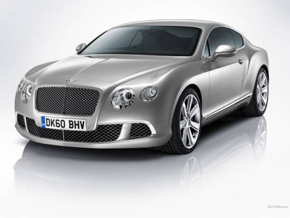 Chelsea Handler drives Bentley Continental GT
