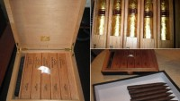 Daniel Marshall DM2 Gold Cigars is about smoking them with royalty