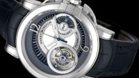 Harry Winston Midnight GMT Tourbillon Watch: Towards futuristic horological excellence