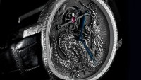 Cornelius & Cie Tourbillon Dragon watch is a tribute to fine Japanese craftsmanship