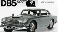 James Bond's Goldfinger Aston Martin DB5 replica for collectors