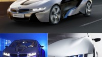 The BMW i8 hybrid to use laser headlights