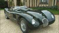 A rare Jaguar C-Type replica based on original 1953 version could sell for $200,000