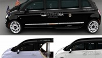 Castagna Milano introduces Fiat 500 Limousine versions for American market