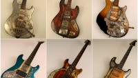 Tony Cochran steampunk guitars will be a collectible in time to come