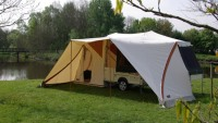 Holtkamper Flyer tent trailer is meant for the most phenomenal camping experience