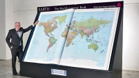 World's largest atlas on sale for $100K