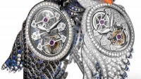 Girard-Perregaux Swan-themed Cypris Tourbillon for Boucheron
