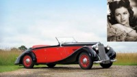 Margaret Lockwood's 1938 Delage D6-70 Tourer up on auction block