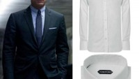 James Bond's Tom Ford tab collar shirt, Tuxedos from SkyFall and Jay-Z Signed Jersey for sale