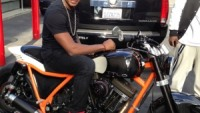 Usher's new custom built bike