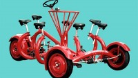 The Conference Bike turns corporate meetings into a joyride