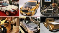 12 Absolutely incredible bling-bling vehicles