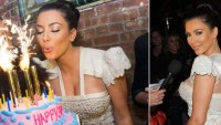 Curvaceous Kim Kardashian says NO to million dollar birthday cake