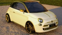 Fenice Milan's €500,000 Gold And Diamonds Fiat 500C ‎