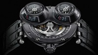 MB&F HM3 ReBel watch is designed to be worn on the right wrist