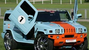 Pimped-Out Hummer GT With Gullwing Doors
