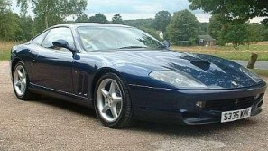 The Who's lead guitarist's Ferrari 550 Maranello for sale