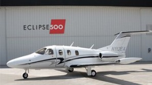 First Eclipse 500 personal jet up for sale