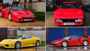 Bonhams' Hendon sale to feature four rare Ferraris from private collection