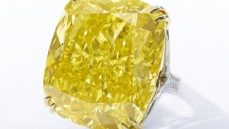 Lone bid claims 100-carat yellow diamond for $16.3 million