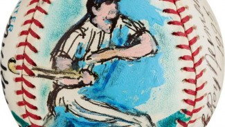 LeRoy Neiman painted baseballs sell for $491,748