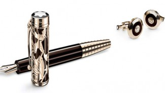 Mont Blanc Limited Writers Edition Carlo Collodi is inspired by the wooden puppet Pinocchio