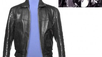 George Harrison's leather jacket and Beatles memorabilia auction