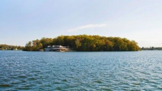 Private island with Frank Lloyd Wright-designed residence is for sale