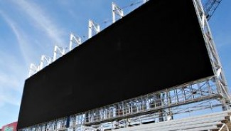World's largest T.V is larger than a Boeing 767