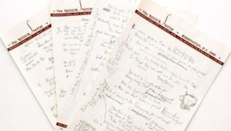 Sotheby's auction- Bob Dylan's Lyrics sells for $2.05 million