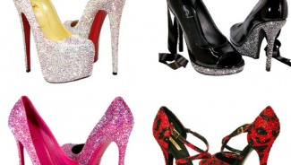 Crystal Heels custom designer shoes concept : Gift Idea for shoe lovers