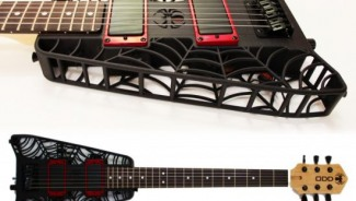 Spider 3D printed Guitars are for the punk lovers