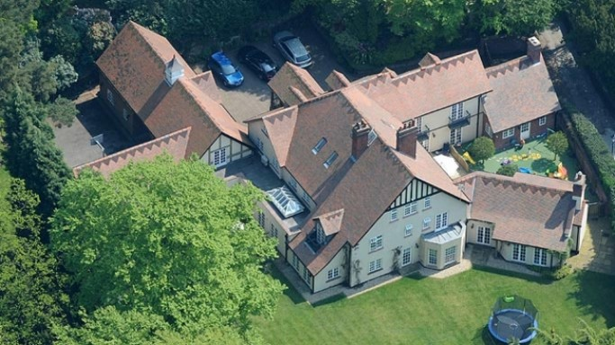 photo: house/residence of tough 75 million earning Alderley Edge, Cheshire UK-resident