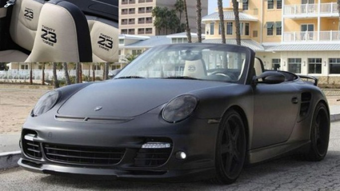 photo of David Beckham Porsche 911 - car
