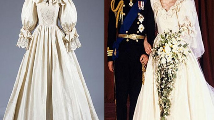 Princess Diana's wedding dress copy is up for auction at $104,000