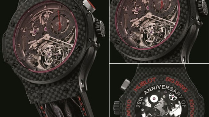 Hublot Big Bang Ferrari tourbillon to celebrate the 20th anniversary of the first Ferrari in China