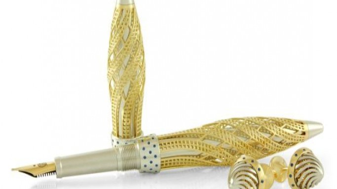 Jack Row launches precious metal fountain pens with Harrods