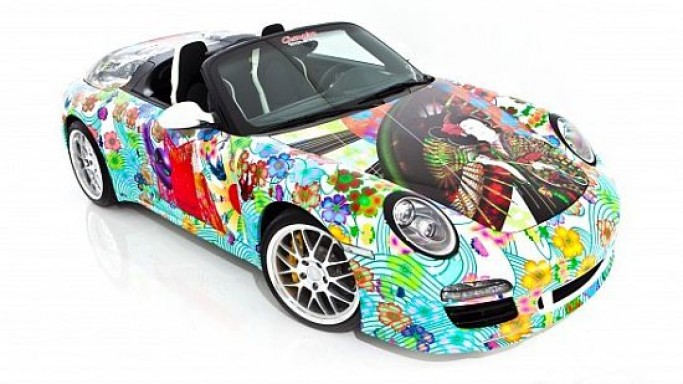 2011 Porsche 911 Speedster Art Car by Miguel Paredes