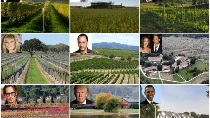 Private Vineyards of the uber-rich