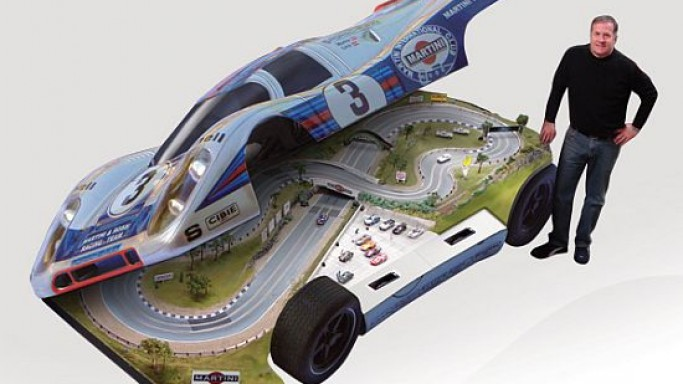 Slot Mods recreates cars and racing tracks in your homes