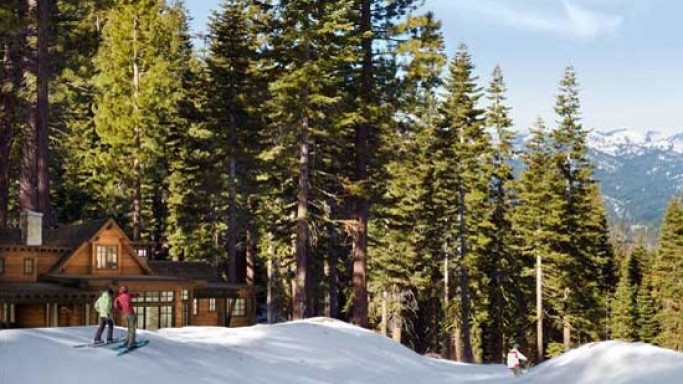 Northstar Mountainside ski homes in California: Take off into skis from home to ski slopes