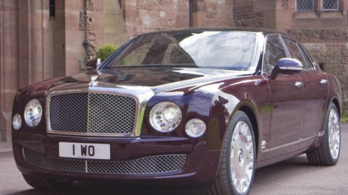 Bentley Mulsanne Diamond Jubilee Edition is a royal car by every means
